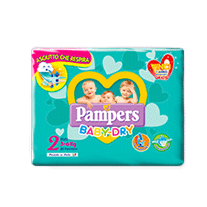 Pampers Baby Dry Mini  24 pz