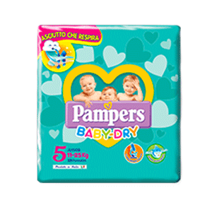 Pampers Baby Dry 5 Junior  17 pz